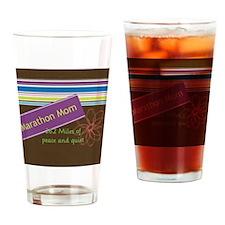 marathonmom4 Drinking Glass