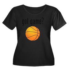 got game Women's Plus Size Dark Scoop Neck T-Shirt