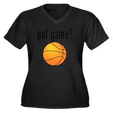 got game Women's Plus Size Dark V-Neck T-Shirt