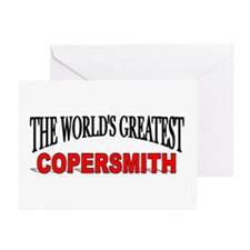 """""""The World's Greatest Copersmith"""" Greeting Cards ("""