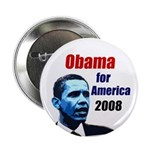 Obama for America 2008 Button