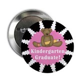 Pink Kindergarten Graduate Button