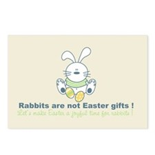Easter rabbit Postcards (Package of 8)