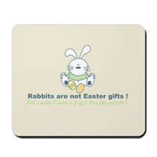 Easter rabbit Mousepad