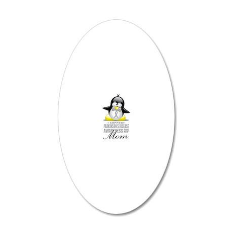 Paekinsons-Penguin-for-Mom 20x12 Oval Wall Decal