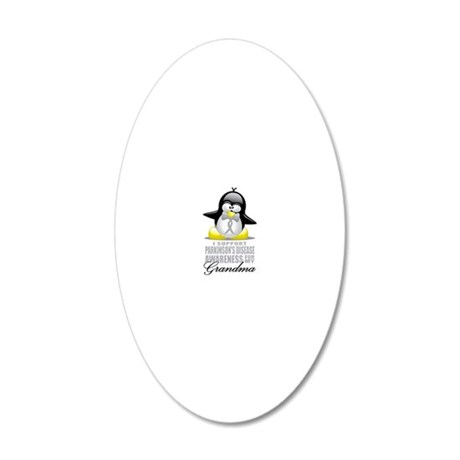 Paekinsons-Penguin-for-Grand 20x12 Oval Wall Decal