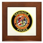 Seminole Police Framed Tile