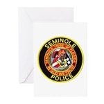 Seminole Police Greeting Cards (Pk of 10)