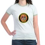 Seminole Police Jr. Ringer T-Shirt