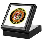 Seminole Police Keepsake Box