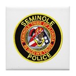 Seminole Police Tile Coaster