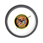 Seminole Police Wall Clock