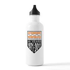 40 Years-logos-final-s Water Bottle