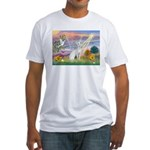Cloud Angel & Devonshire Rex Fitted T-Shirt