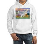 Cloud Angel & Devonshire Rex Hooded Sweatshirt