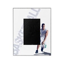 basketball_dribble_wht (2) Picture Frame
