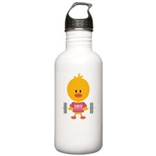 PowerliftingChickDkT Water Bottle