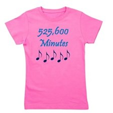 525600 Minutes Girl's Tee