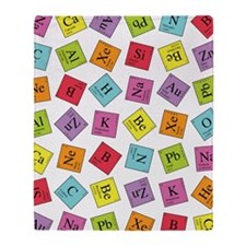 periodic_ipad Throw Blanket