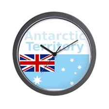Antarctica1-DARK Wall Clock