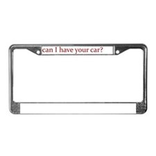 Lower License Plate Frame