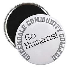 Greendale CC Go Humans Magnet