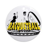 Brian & Joe's Racquetball Clu Ornament (Round)