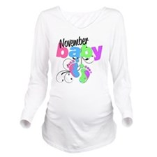 nov baby Long Sleeve Maternity T-Shirt