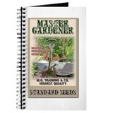 Master Gardener seed packet Journal