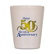 50thAnniversaryLogo2 Shot Glass