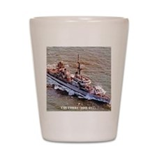 corry ddr notecard Shot Glass