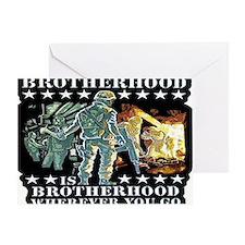 brotherhood Greeting Card
