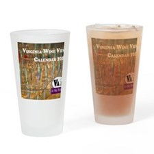 VA Winery Views Calendar Cover Drinking Glass