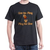 "BBallChick ""Live to Play"" T-Shirt"
