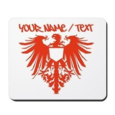 Red Polish Eagle Mousepad