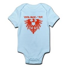 Red Polish Eagle Body Suit