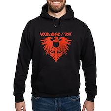 Red Polish Eagle Hoodie