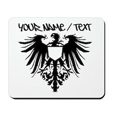 Black Polish Eagle Mousepad