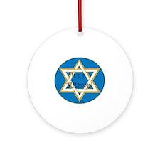 mitzvah Round Ornament