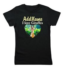GIRAFFES RULE Girl's Tee