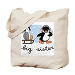 Big Sister - Penguin Tote Bag