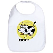 The Cow Says Moo Bib