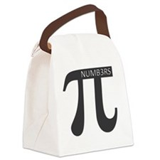 Pi Journal Canvas Lunch Bag