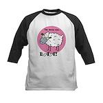 The Sheep Says Baa Kids Baseball Jersey