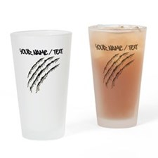 Torn Claw Mark Drinking Glass