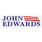 John Edwards (flag bumper sticker)
