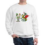 Snakes, Dragons and Leprechauns Sweatshirt