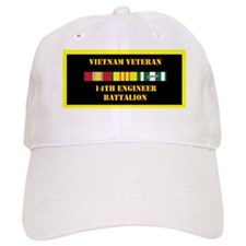 army-14th-engineer-battalion-vietnam-lp Baseball Cap