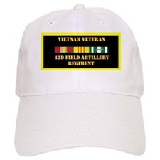 army-42d-field-artillery-regiment-vietnam-lp Baseball Cap