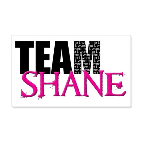 Team Shane Hat 20x12 Wall Decal